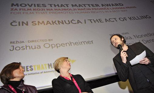Dodjela_nagrada_movies_that_matter__oksana_sarkisova_sandra_bencic_srecko_horvat